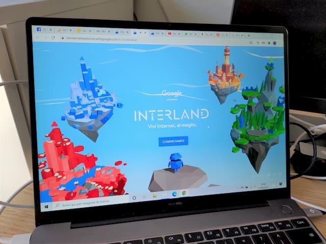 interland google vivi internet al meglio