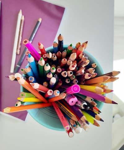 matite per la scuola