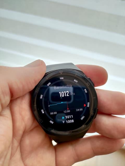 altimetro barometro  smartwatch