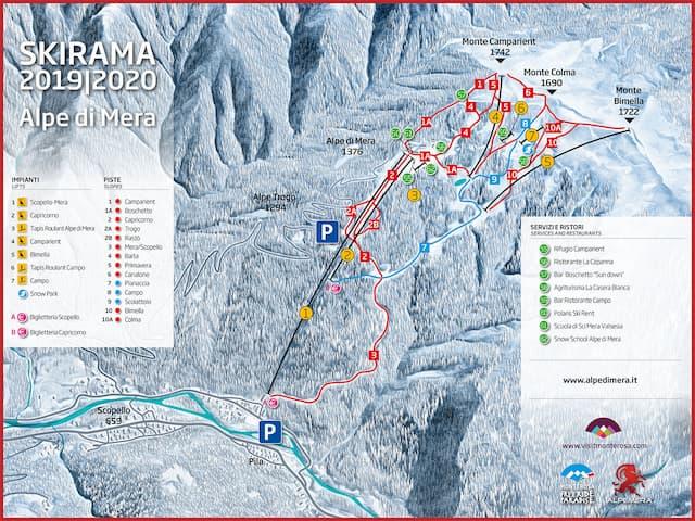 skirama piste alpe di mera