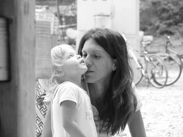 mamma con bambina