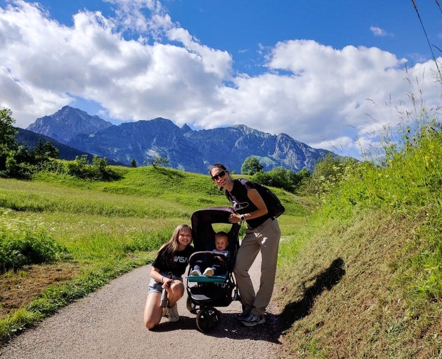 vacanza in montagna con bimbi
