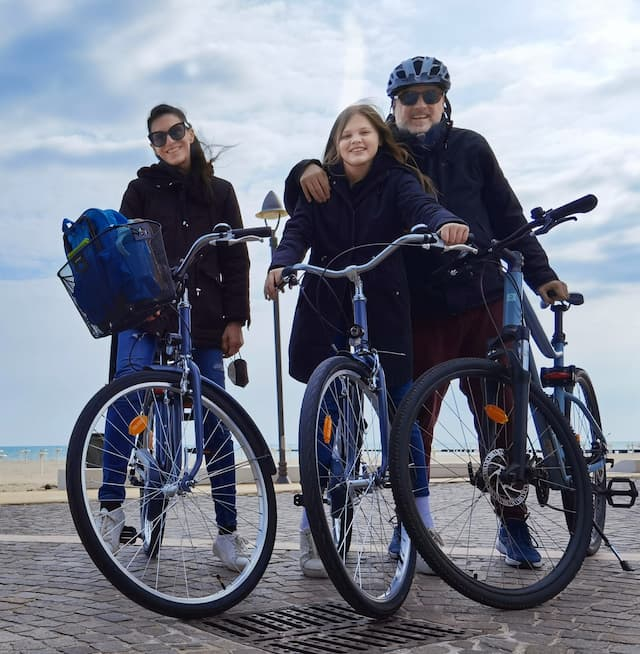 bici decathlon da città e trekking