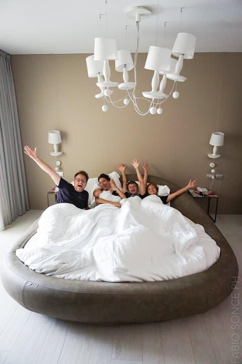bibione family hotel per famiglie numerose