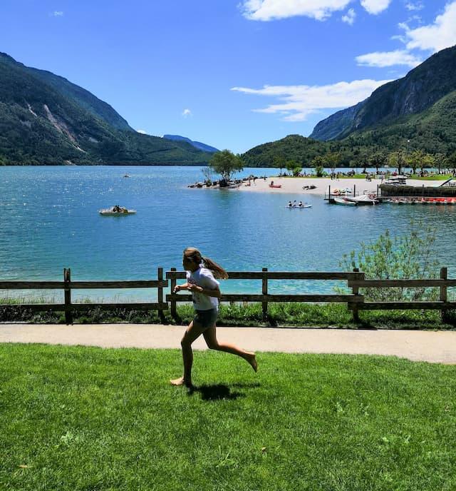 parco giochi lago di Molveno Trentino