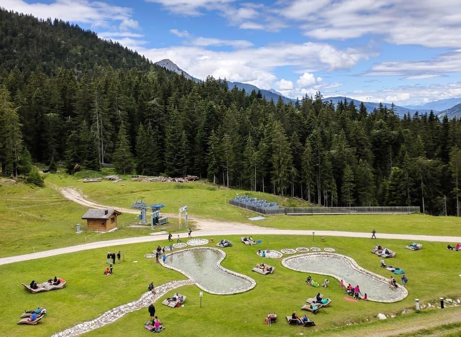 parchi giochi in montagna