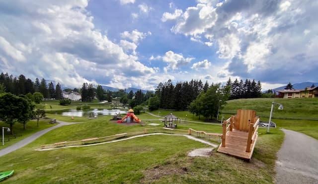parco giochi Palù Lavarone Trentino