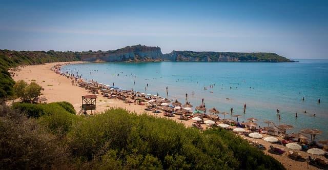 tour in grecia spiaggia gerakas