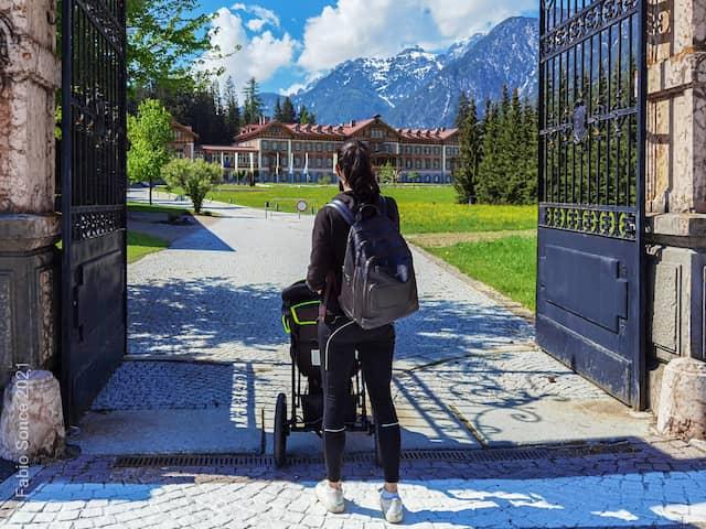 ingresso centro visite Tre Cime