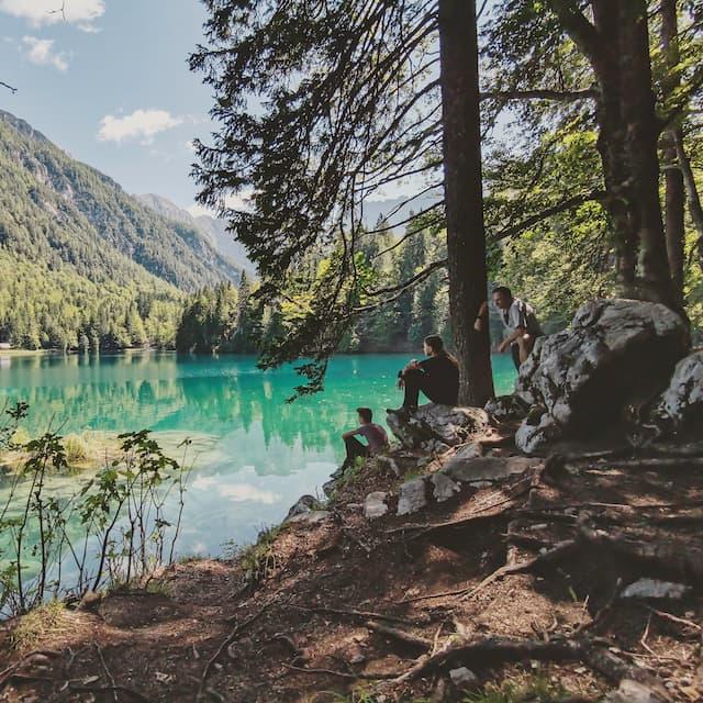 laghi di fusine lago inferiore