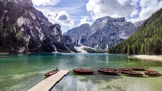 lago di braies alto adige val pusteria