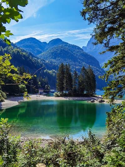 cave del predil lago verde