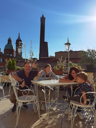 Bologna torre asinelli famiglia